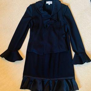 Designer St. John Skirt Suit